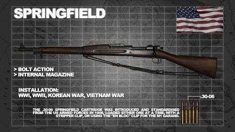 Z Armoury (Nazi Zombies Weaponry Guide) - The 'Springfield' (The M1903)