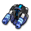 Blaster sharp A icon