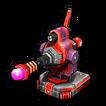 Laser blocks A icon