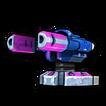 Blaster sleek B icon