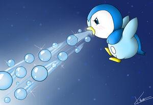 Piplup use bubblebeam by animegirl1314-d42tq57