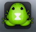 Frog viduo