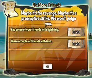 No More Friends