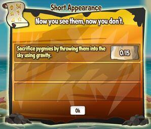 Short Appearance