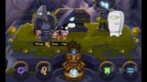Pocket God Mayan Crypt 7 7 (kicking pygmies)