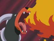 Nail Houndoom Flamethrower