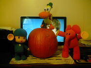 Pocoyo pato and ellys pumpkin by porygon2z-d4cwibh drum trumpet