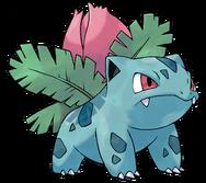 002 Ivysaur Art