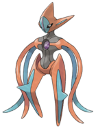 386 Deoxys Attack Forme Art