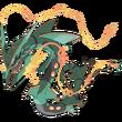 384 Rayquaza Mega Art