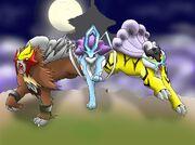 The legendary Beasts