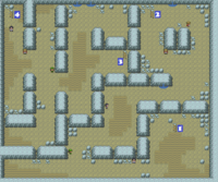 Kanto Rock Tunnel F2 Map