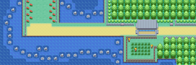 Kanto Route 18 Map