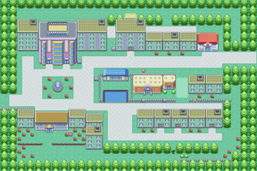 Kanto Celadon City Map