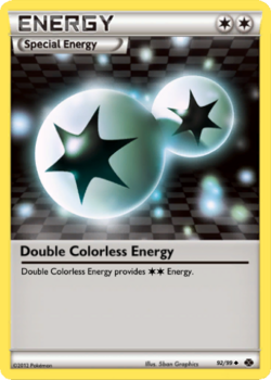 Double Colorless Energy Card