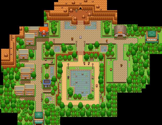 File:Pokemon Uranium Burole Town Day.png