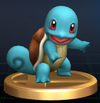 Squirtle trophy SSBB