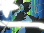 Marble Luxray Iron Tail