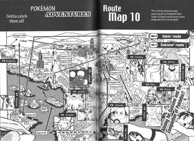 Adventures volume 10 map