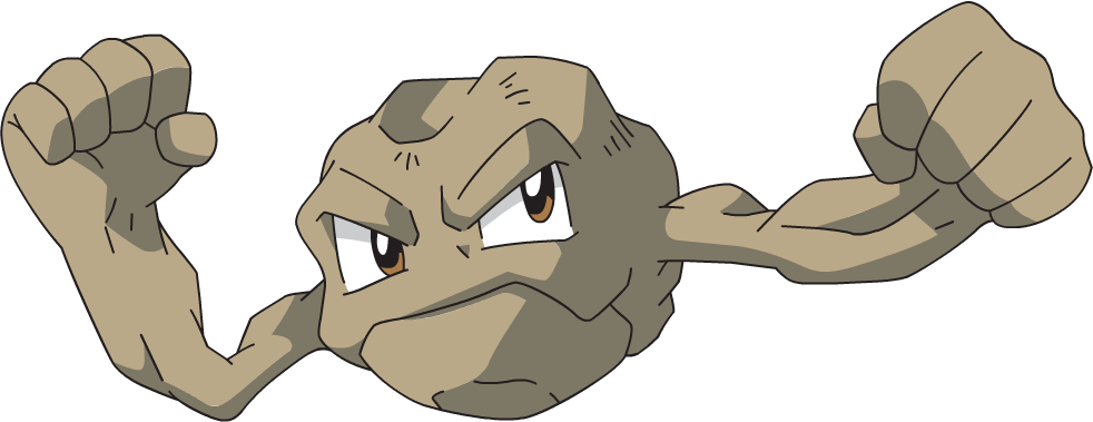 Geodude Pok 233 Mon Wiki Fandom Powered By Wikia