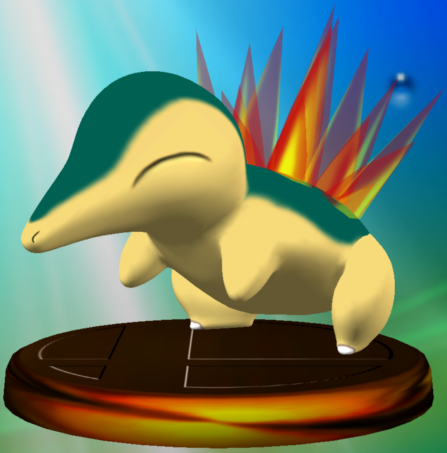 File:Cyndaquil trophy SSBM.png