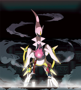 Arceus in Sinjoh Ruins