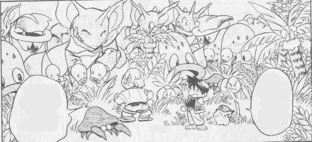 Red Safari Zone Pokemon