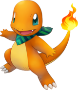 004Charmander Pokémon Super Mystery Dungeon