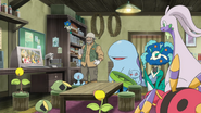 Keanan, Goodra, Florges and Floette in XY112