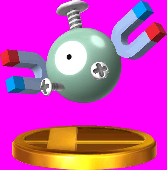 File:Magnemite trophy SSB3DS.png