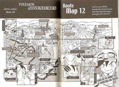 Adventures volume 12 map