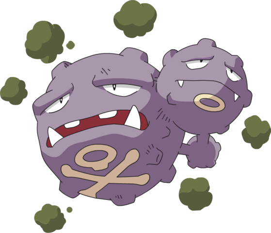 File:110Weezing AG anime.png
