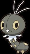 664Scatterbug XY anime