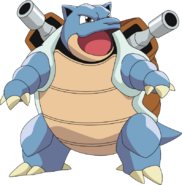 Blastoise pok mon wiki fandom powered by wikia - Tortank pokemon y ...