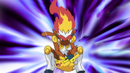 Flint Infernape Close Combat