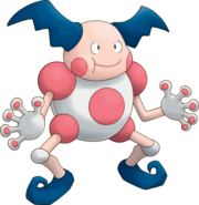 122Mr Mime Pokemon Mystery Dungeon Explorers of Time and Darkness