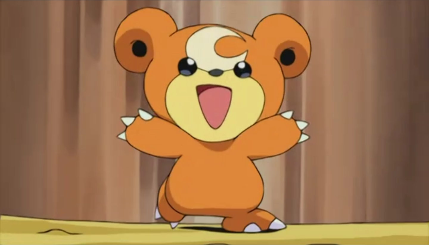 Teddiursa Anime Pok 233 Mon Wiki Fandom Powered By Wikia