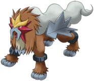 244Entei Pokemon Ranger