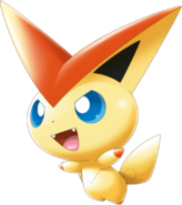 494Victini Pokemon Rumble U