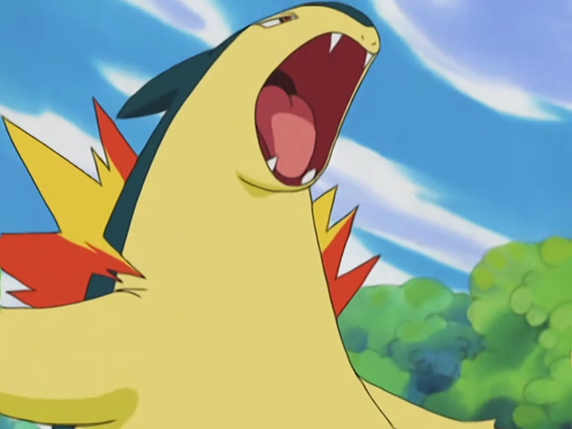 Mr Moore Typhlosion