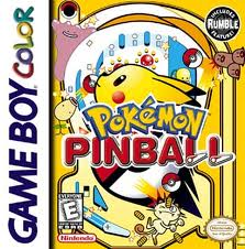 Pokémon Pinball Boxart