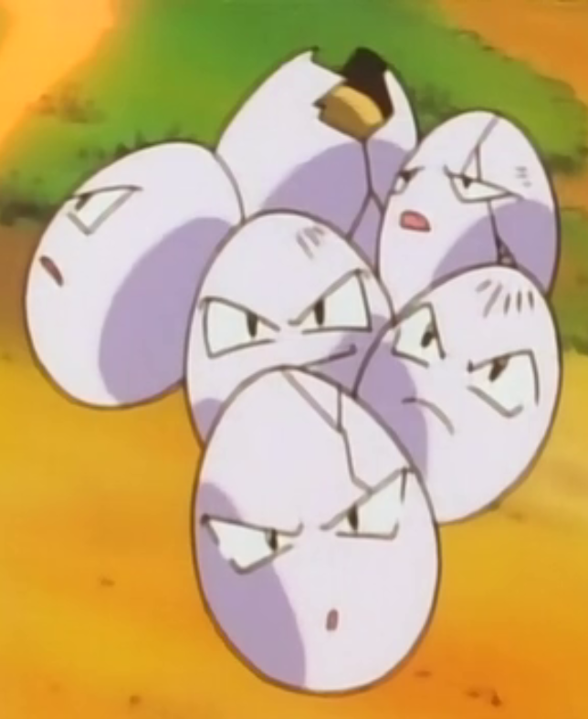 Celadon Gym Exeggcute