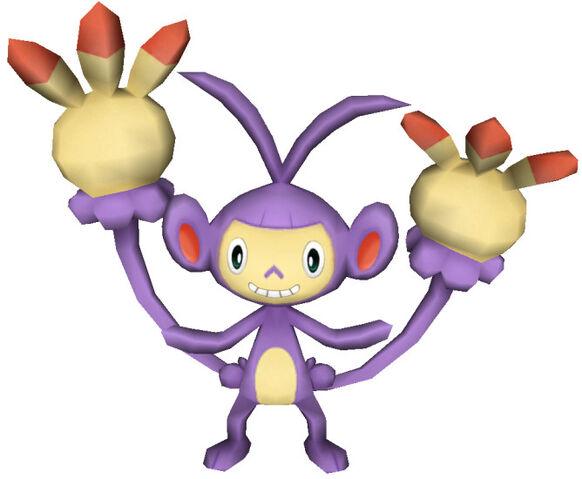File:424Ambipom Pokémon PokéPark.jpg