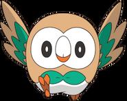 722 Rowlet anime