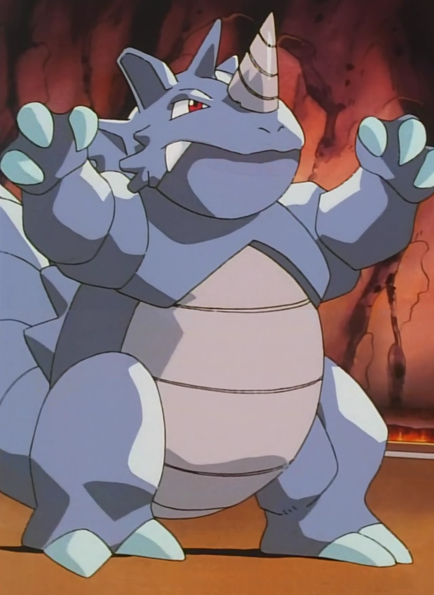 Blaine S Rhydon Pok 233 Mon Wiki Fandom Powered By Wikia