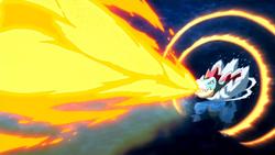 Feraligatr's Hyper Beam