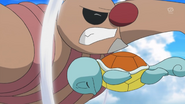 Tierno Squirtle Skull Bash