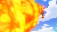 Meyer Mega Blaziken Flamethrower