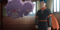 Koga's Weezing (Origins)