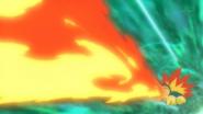 Ash Cyndaquil Flamethrower